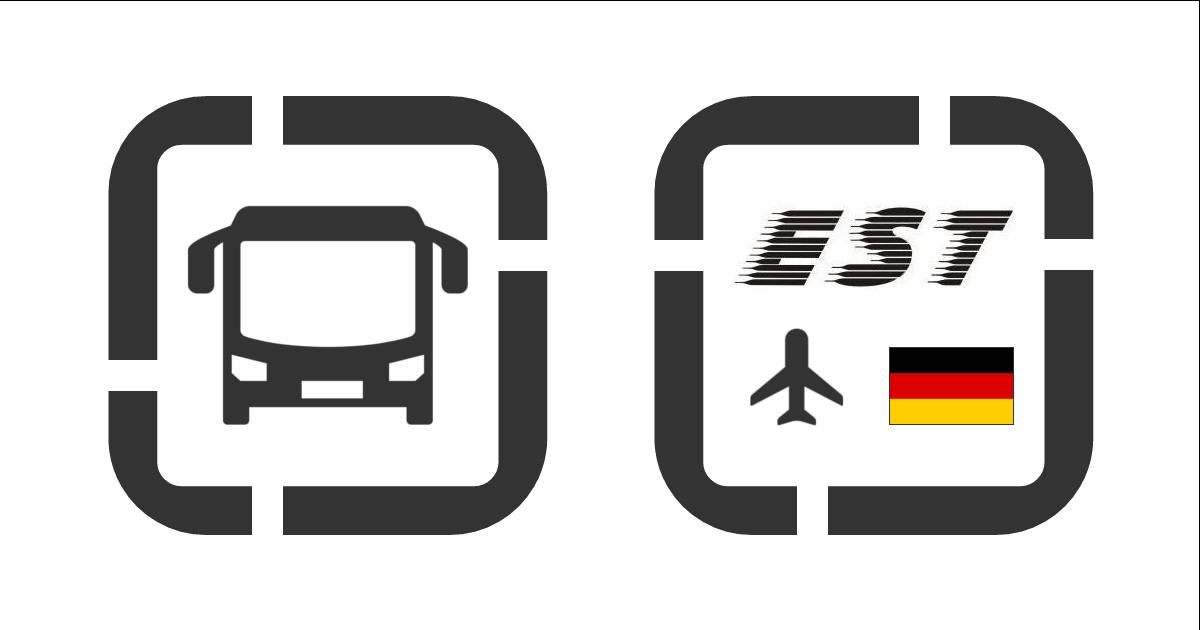 Zmiana oznaczenia przystanku Est Lorek na lotnisku Berlin-Schönefeld