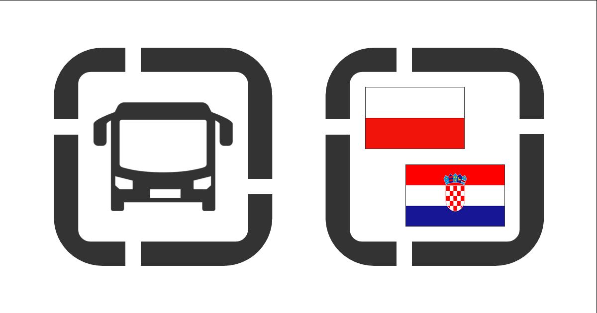 Autobusem z Polski do Chorwacji