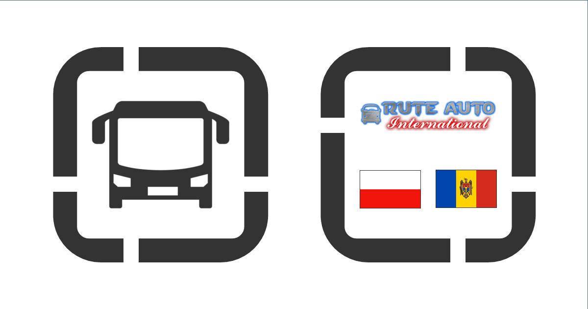 Автобусные билеты онлайн Познань » Кишинёв